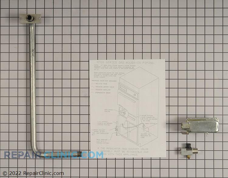 Gas Burner & Control Valve KIT Alternate Product View