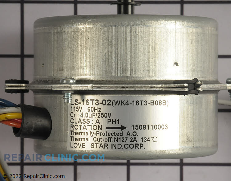 Motor AC-4550-343 Alternate Product View
