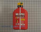 No-spill gas can (2.5 gallon) - Part # 4512821 Mfg Part # 1405