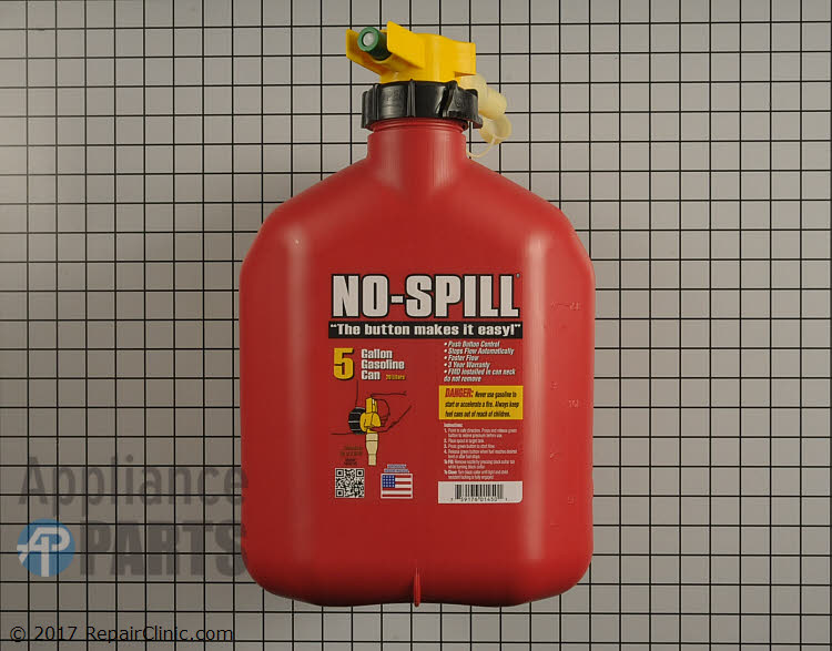 No-spill gas can (5 gallon) 1450 Alternate Product View
