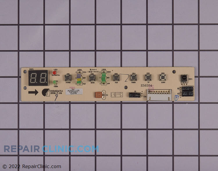 User Control and Display Board AC-5210-186 Alternate Product View
