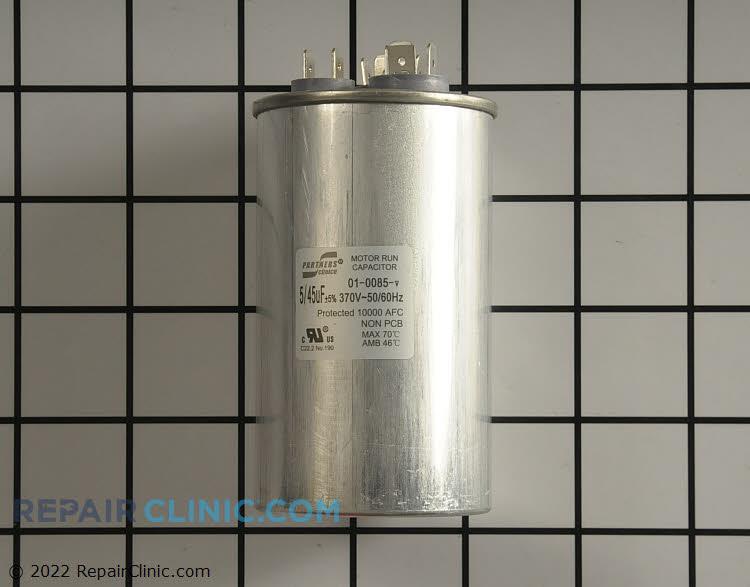 Dual run capacitor round 370V 45/5 uF