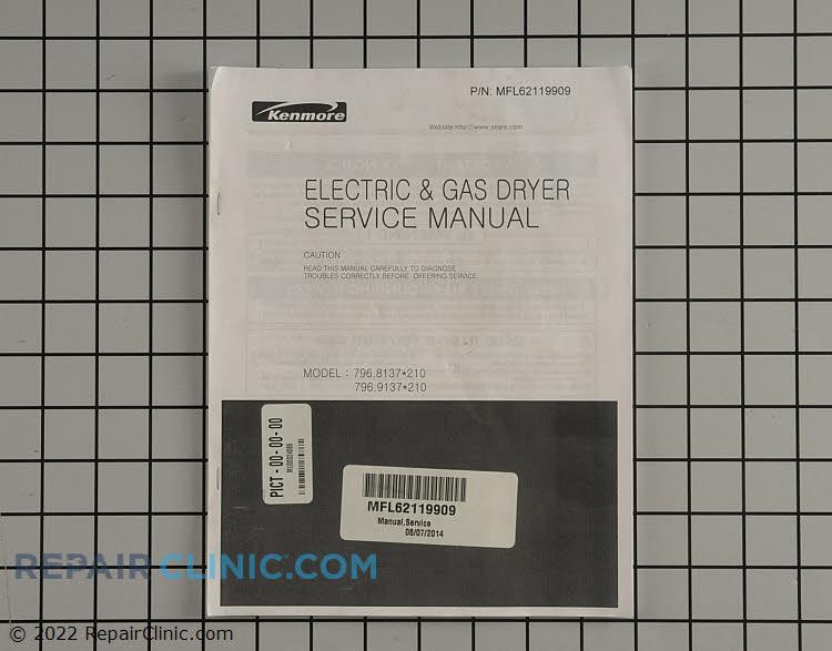 Repair Manual MFL62119909 Alternate Product View