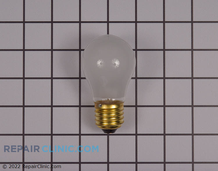 Incandescent light bulb, 60 watts, 120 volts