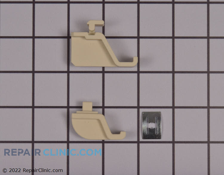 Heating element support & retaining clip. Please note that to replace the support in most cases the unit will need to be pulled from the cabinets and opened up to secure the support with the clip.