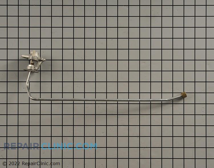 Surface burner orifice holder