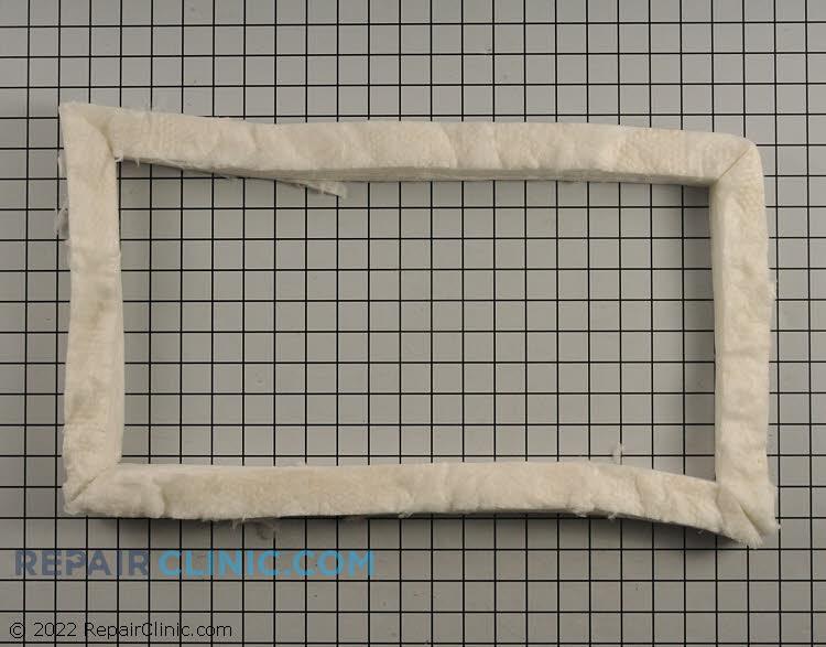 Door and bottom door insulation