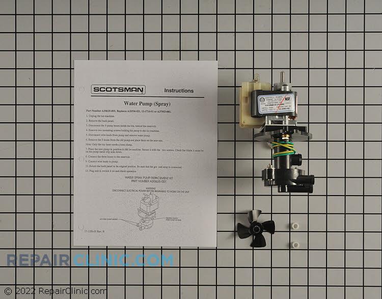 Circulation pump assembly.