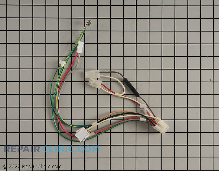 Wire Harness W10913629 05307594 whirlpool refrigerator wire harness fast shipping refrigerator wiring harness green wires at reclaimingppi.co