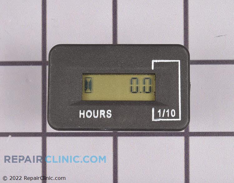 Hour meter w/alerts ac/dc