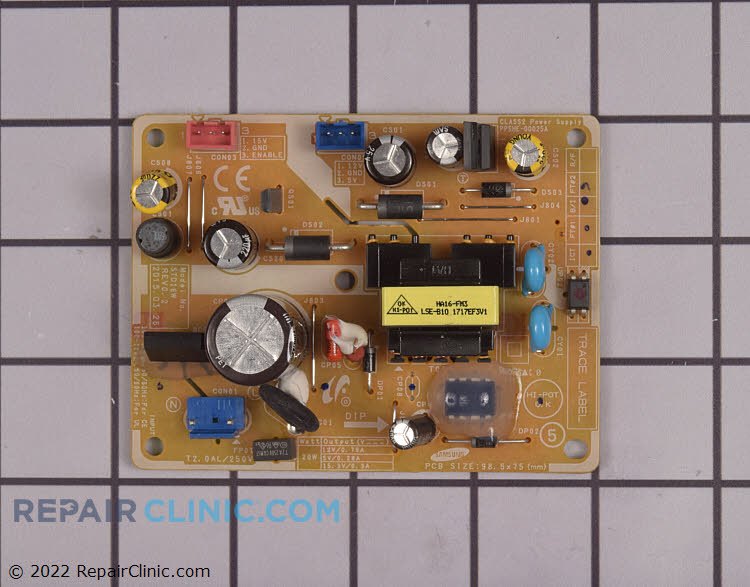 Power Supply Board DB92-02862A Alternate Product View