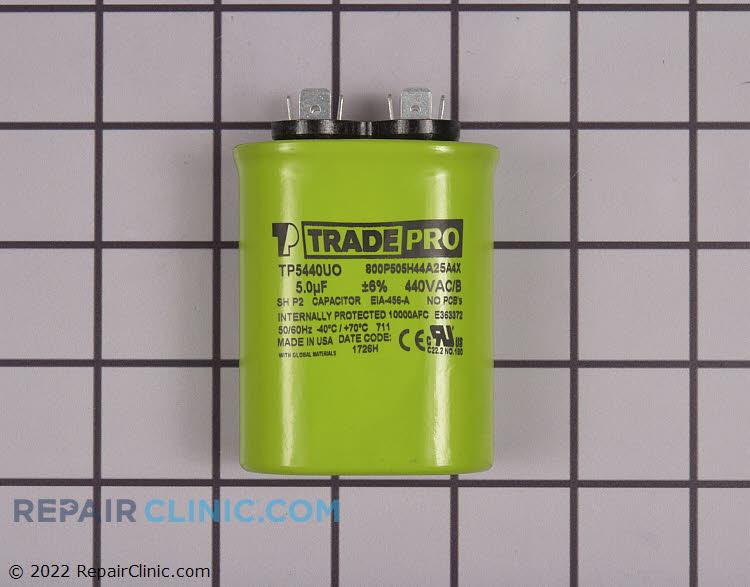 Run Capacitor 440 Volt Oval Single 5 MFD