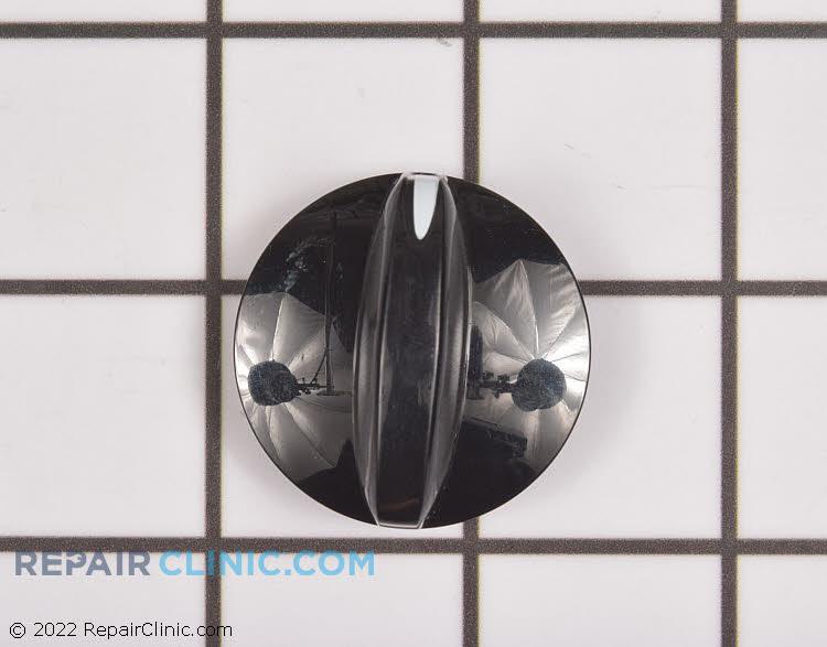 Black downdraft knob
