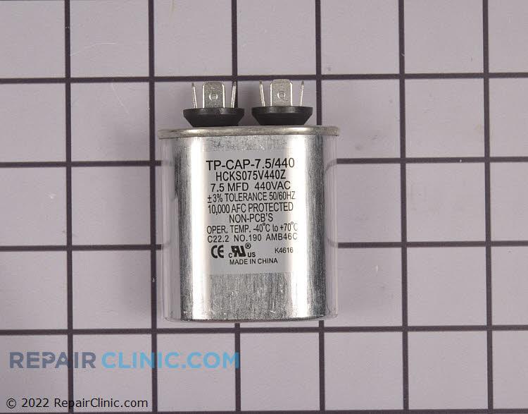 TRADEPRO® 7.5 MFD 440 Volt Oval Run Capacitor