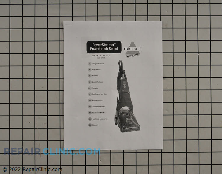 Owner's Manual 1204026 Alternate Product View