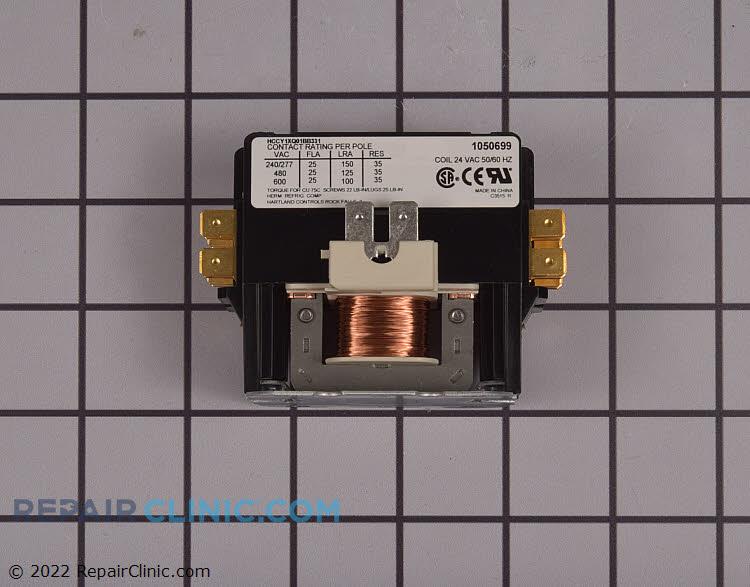 Contactor 1 pole 25 amp 24 volt