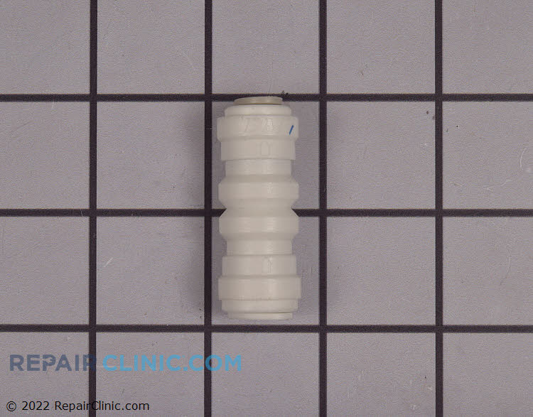 Check valve tubing connector