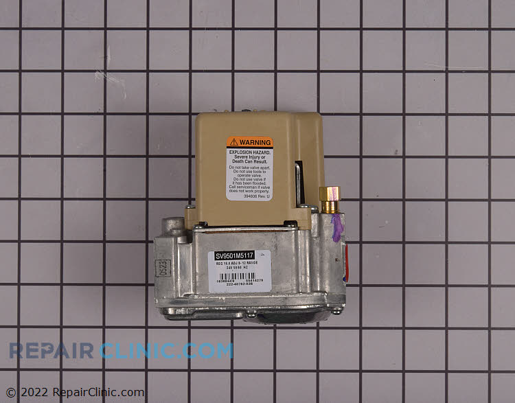 Gas Valve Assembly 222-40762-02 Alternate Product View