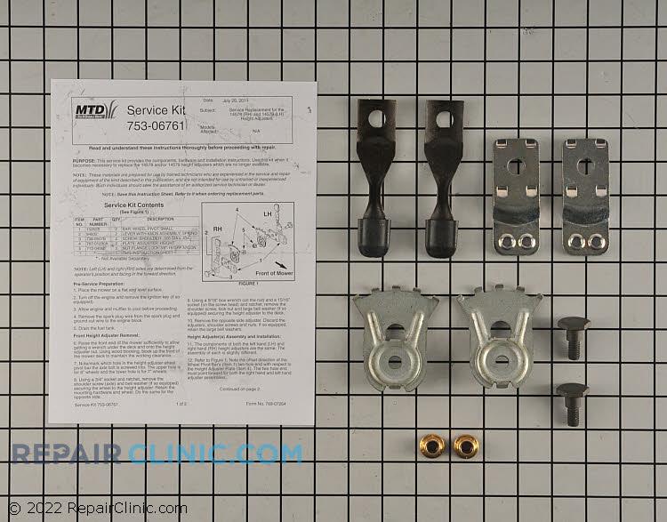Adjuster kit-height