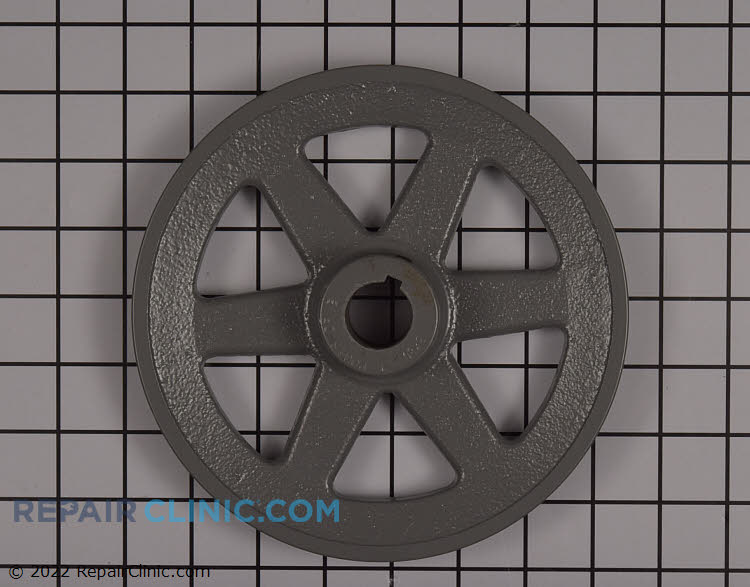 """Pulley,fixed 1 grv,1"""" bore,bk80"""