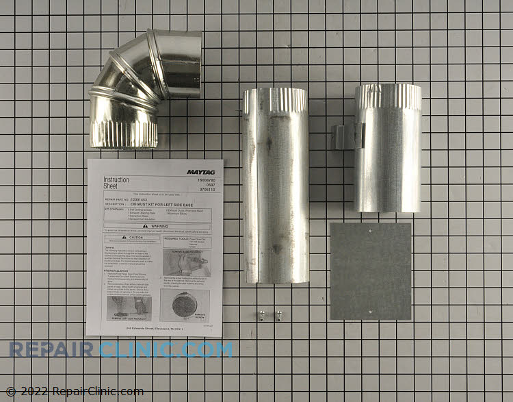 Exhaust Duct 12001453A Alternate Product View