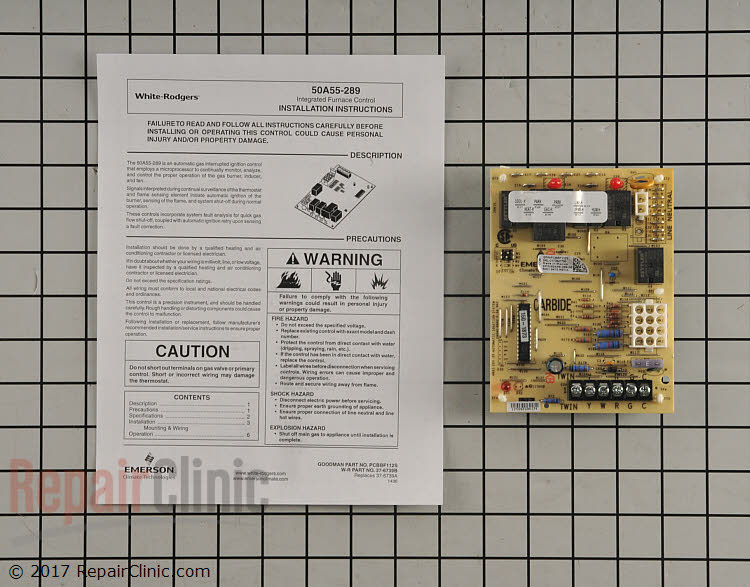 Control Board PCBBF112S Alternate Product View