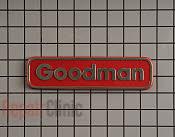 Nameplate - Part # 3196014 Mfg Part # 0161F00000P