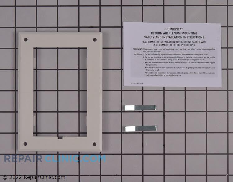 Humidistat adapter plate