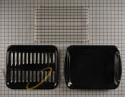 Broiler Pan - Part # 1448642 Mfg Part # W10123240