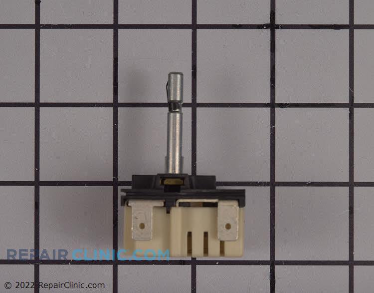 Range dual surface element control switch