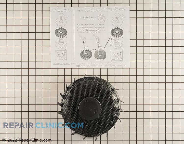 Fan-flywheel