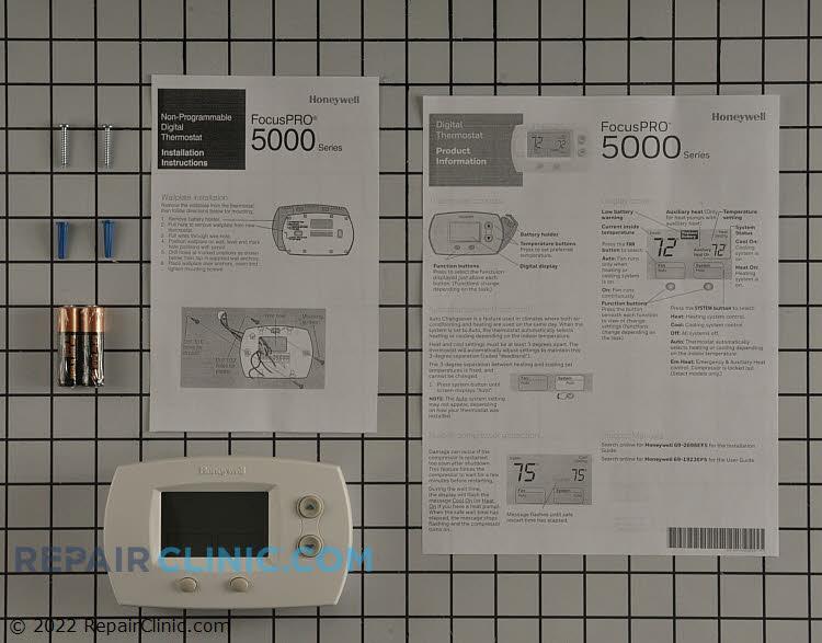Non-prog,2h/2c,backlit,pro5000