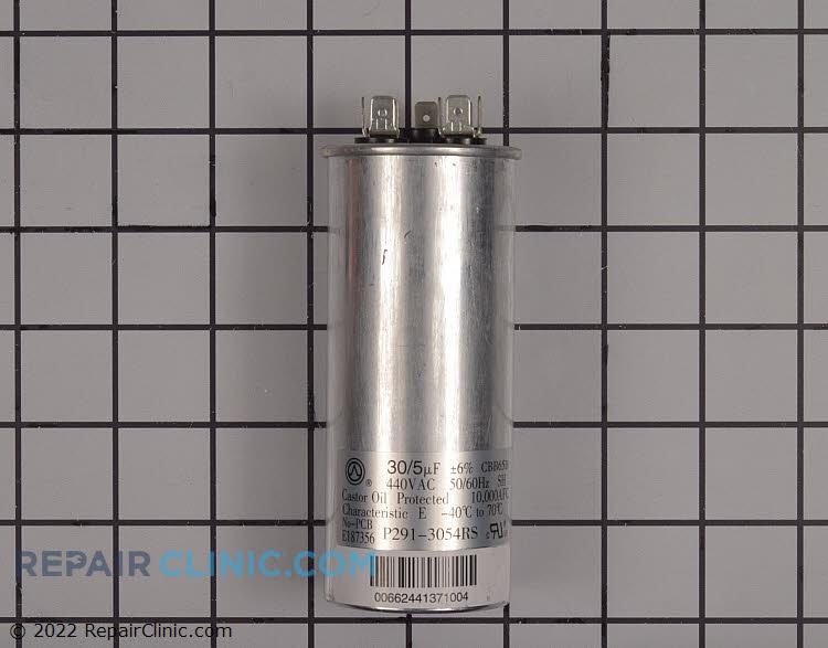 Dual run capacitor, 30+5 MFD 440 Volt Round