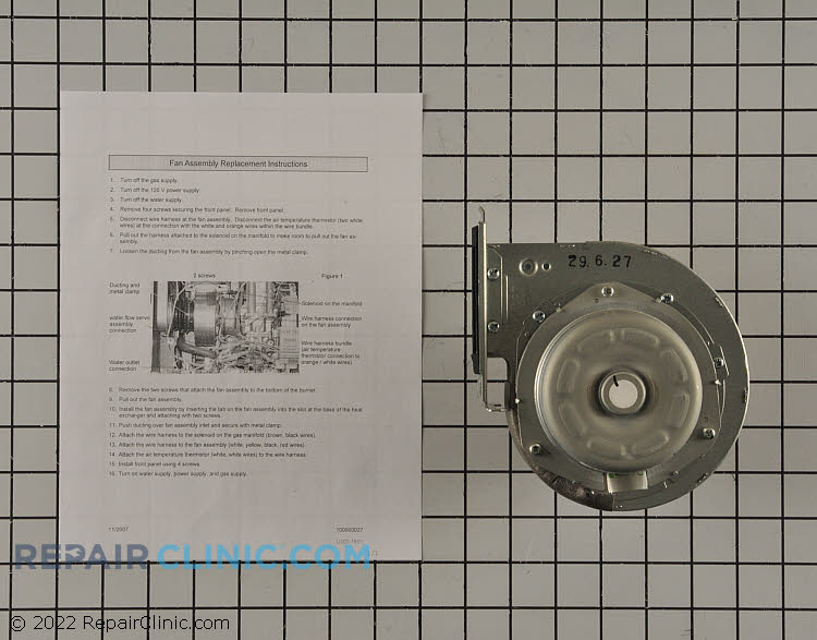Draft Inducer Motor 104000061 Alternate Product View