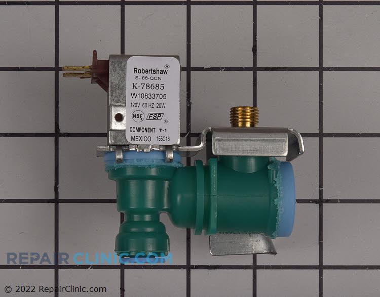 Primary water inlet valve