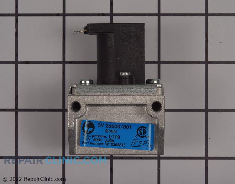 Gas Shut-Off Valve W10368615 Alternate Product View