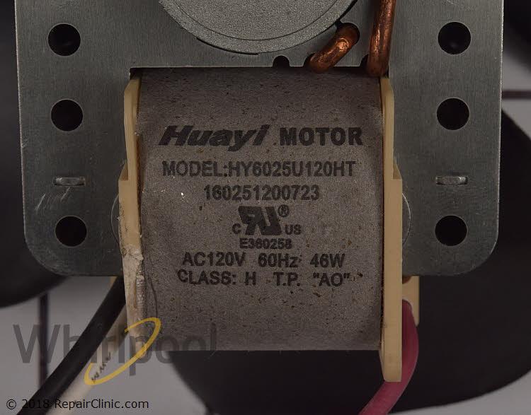 Blower Motor WPW10395033 Alternate Product View