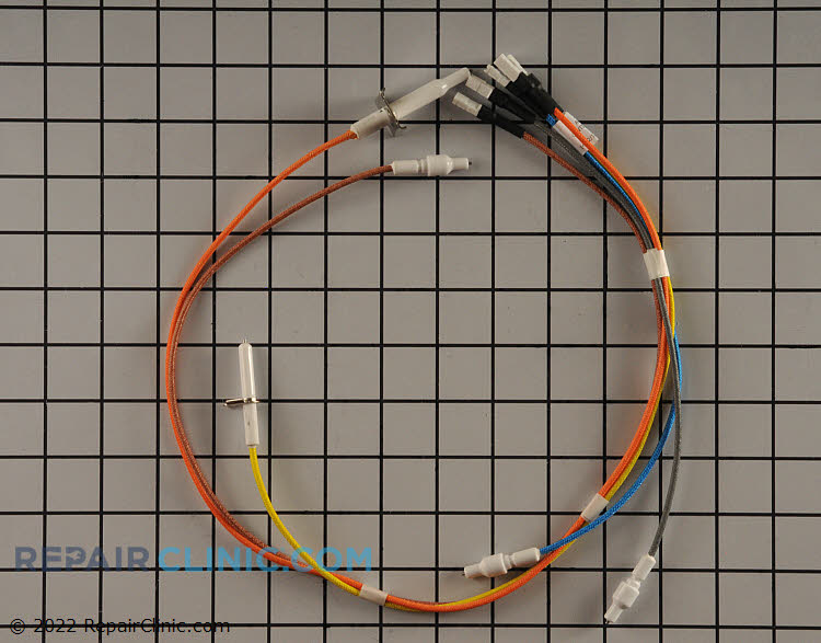Electrodes & harness h. v.