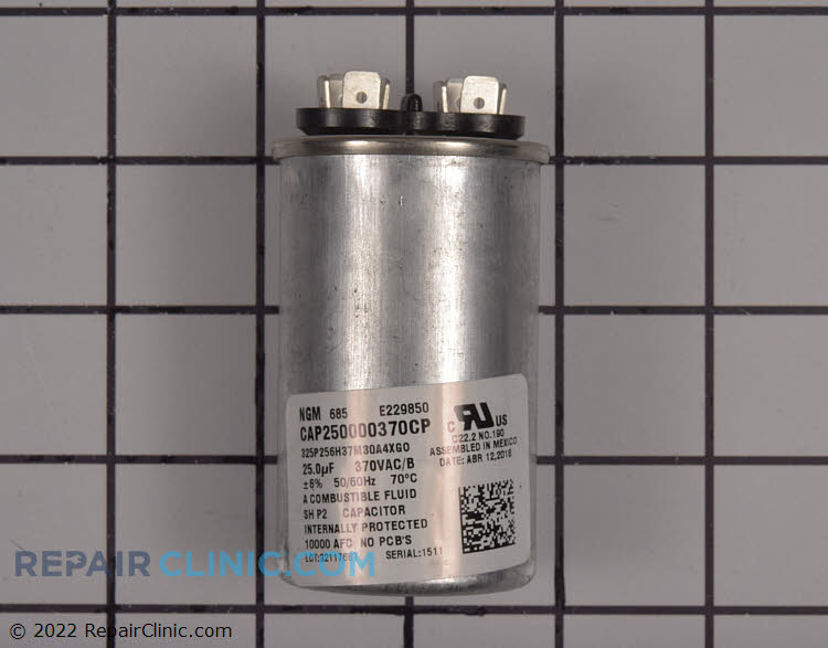 Run Capacitor CAP250000370RPP Alternate Product View