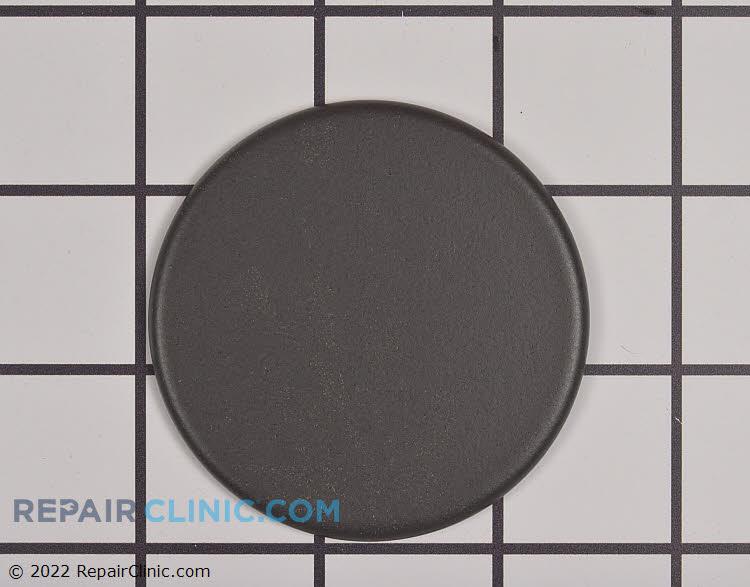 Burner cap, 9.5K, black