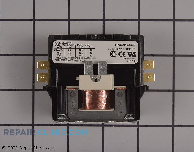 Contactor with screws