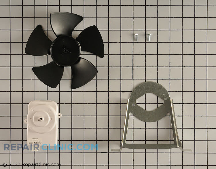 1455822 Supplying Demand W10181323 Refrigerator Condenser Motor With Fan /& Mounting Bracket Replaces 14211095