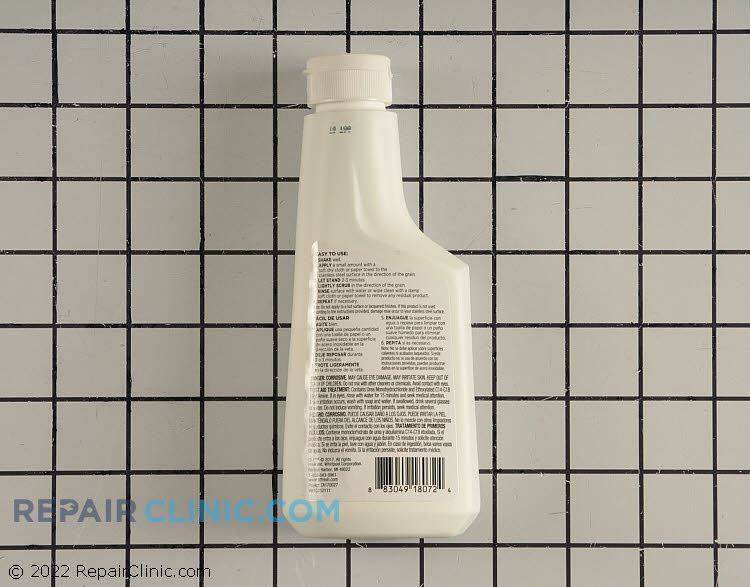 Stainless Steel Cleaner W10252111       Alternate Product View
