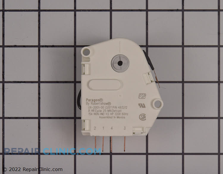 Defrost Timer W10822278       Alternate Product View