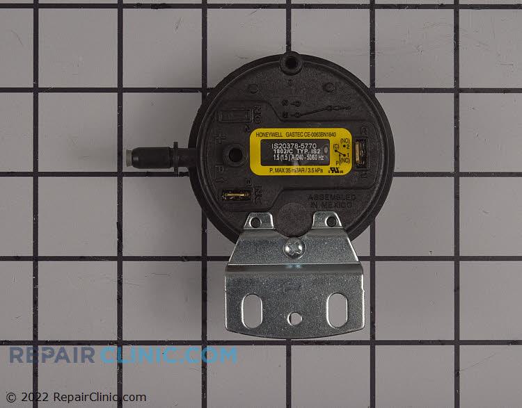 Pressure switch-exhaust ef 2.70 set