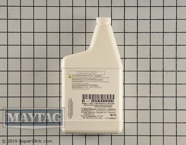 Transmission Oil 6-0560800       Alternate Product View