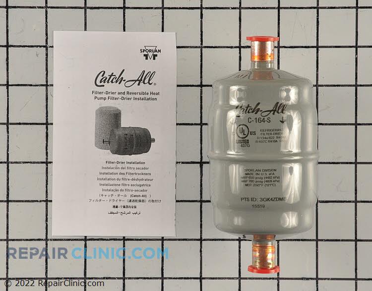 Liquid drier filter