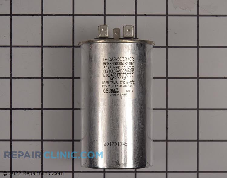 TRADEPRO® 50+5 MFD 440 Volt Round Run Capacitor