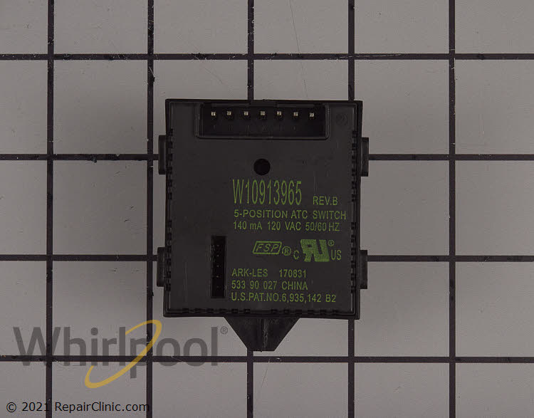 Temperature Control Switch W11103598 Alternate Product View