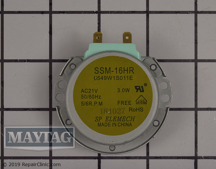 Turntable Motor WPW10159107 Alternate Product View